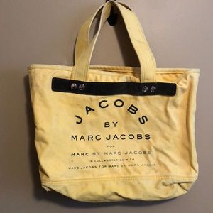 Marc Jacobs yellow tote